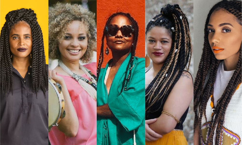 % mulheres negras referencias no Brasil